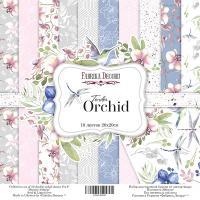 "Набор бумаги fdeco 20x20 ""Tender orchid"" шт (+04172)"