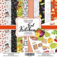 """Набор бумаги fdeco 20x20 """"Soul Kitchen"""" шт (+04101)"""