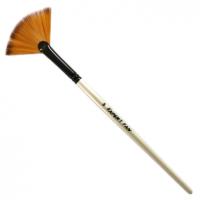 Кисти «Expert» Fan Синтетика веер № 08 рыжий ворс шт (+469)
