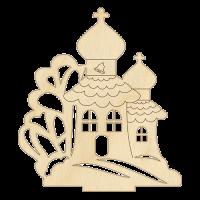 Заготовка fdeco №02 Церковь из фанеры шт (+3067)