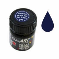 Краски витражные Marabu на осн раств. хол фикс, Парижская синяя, 15мл, Glas Art, Marabu шт (+1664)