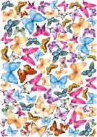 Оверлей fdeco «Бабочки 3-Д» шт (+1156)