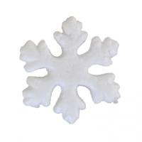 Снежинка из пенопласта 75мм №742336 шт (+04089)