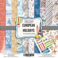 "Набор бумаги fdeco 20x20 ""European holidays"" шт (+04176)"