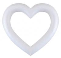 Сердце Пенопласт контурное 180мм шт (+1866)