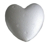 Сердце Пенопласт 80мм шт (+681)