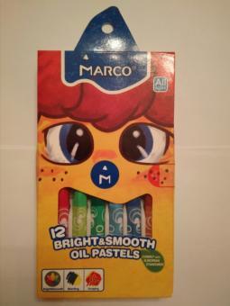 Пастель - масло 12 цв Colorite Marcо шт (+2999)