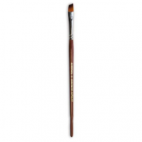 Кисти Живопись 1123 Синтетика скош № 02 длинная ручка рыжий ворс шт (+338)