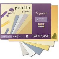 Альбом Tiziano для пастели А4 180 г\м.кв 6цветов 30 листов ассорти Fabriano шт (+1380)