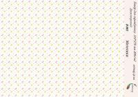 Бумага для скрапбукинга artmag Бабочки В 003  двухсторонняя 210*270 мм 200г/м шт (+05739)