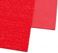 Фоамиран А4 с флоком красный 2мм 10№8932 шт (+04467)