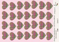 Бумага для скрапбукинга artmag Love 3 L003 двухсторонняя 210*270 мм 200г/м шт (+05855)