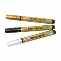 Маркер для ткани DecoFabric,Marvy Чорний, д/темн. 2-3мм, 222-S, шт (+1806)