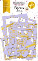 """Набор рамок fdeco №1 """"Purple"""" 39шт шт (+03885)"""