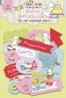 Набор высечек fdeco Bunny birhtday party  (+03414)