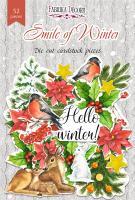 Набор высечек fdeco Smile of winter 52 штук  (+3071)