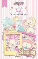 Набор высечек fdeco Sweet baby girl 49 штук шт (+3074)