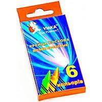 Цветные карандаши воск  Умка 6  цветов №МЛ80 шт (+03148)