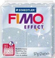 Пластика Fimo Effekt,серебро с блестками 57г шт (+3011)