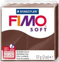 Пластика Fimo Soft, Шоколадная 57г шт (+04281)