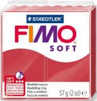 Пластика Fimo Soft, Вишневая 57г шт (+04278)