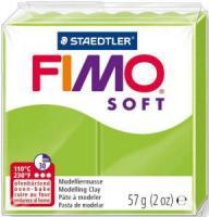 Пластика Fimo Soft, Зеленое яблоко 57г шт (+04280)