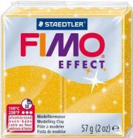 Пластика Fimo Effekt,золото с блестками 57г шт (+3009)