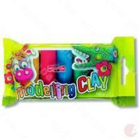Пластилин KIN 5 цветов 100 гр п-эт упаковка №131713 шт (+05525)