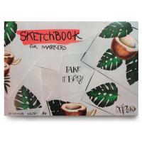 Скетчбук Трек А4 250 г/м.кв. 25 листов для маркеров  (+05285)