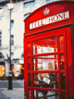 """Картина по номерам artmag 40*50 см """"Лондонский Куш"""" схема+краски+кисти К026  (+05213)"""